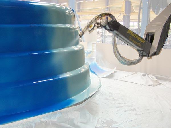 Напыление стеклопластика своими руками