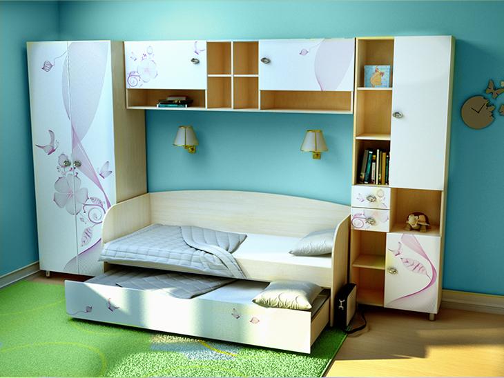 Детская модульная мебель лето белое., таганрог.